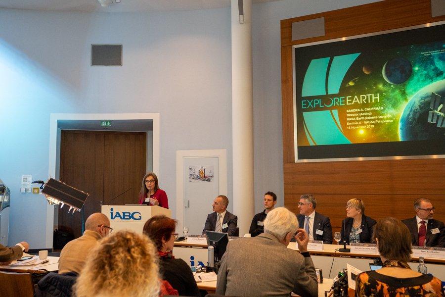 ESA Clean room event sentinel 6