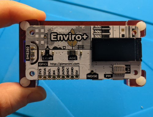 Build an Air Quality Sensor with Raspberry Pi and Enviro+