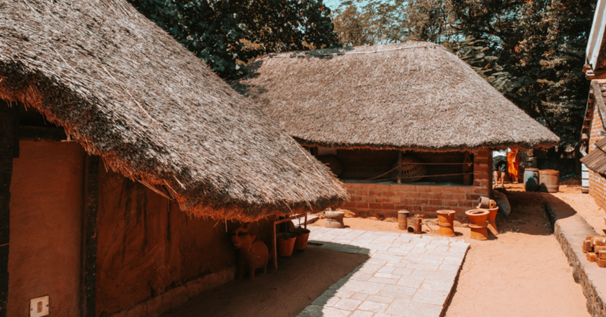 Traditional Sustainable Indian House