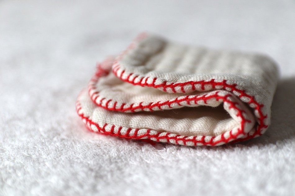 handmade cotton hand-towel